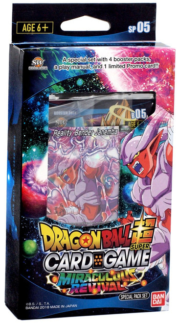 Dragon Ball Super Collectible Card Game Series 5 Miraculous Revival Miraculous Revival Series 5 Special Pack DBS-SP05