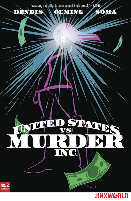 DC United States Vs Murder Inc. #2 of 6 Comic Book