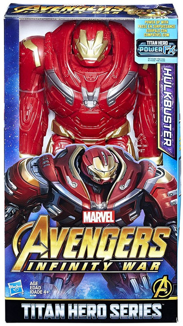 Marvel Avengers Infinity War Titan Hero Series Power FX Hulkbuster Action Figure
