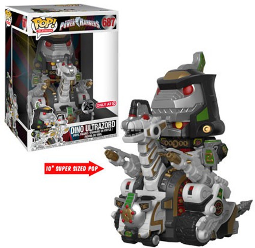 Funko Power Rangers Mighty Morphin POP! TV Dino Ultrazord Exclusive 10-Inch Vinyl Figure #687 [Super-Sized]