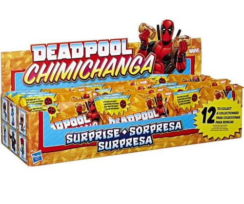 Marvel Deadpool Wave 1 Chimichanga Mystery Box [12 Packs]