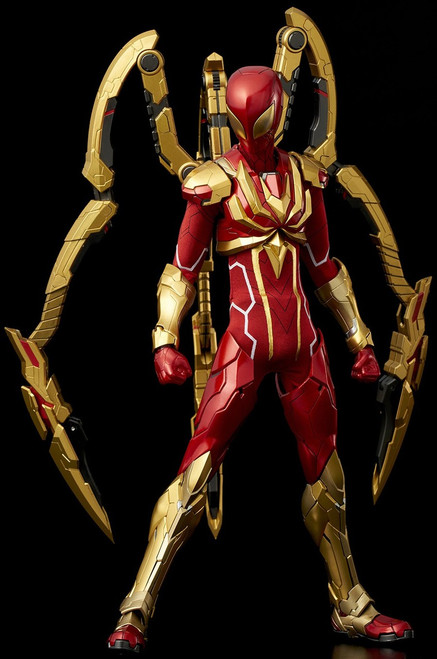 Marvel Re:Edit Iron Spider Action Figure