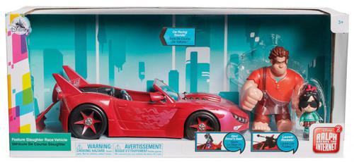 Disney Wreck-It Ralph 2: Ralph Breaks the Internet Feature Slaughter Race Exclusive Figure & Vehicle Set