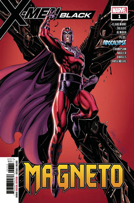 Marvel X-Men Black #1 Magneto Comic Book
