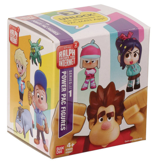 Disney Wreck-It Ralph 2: Ralph Breaks the Internet Power Pac Series 1 3-Inch Mystery Pack