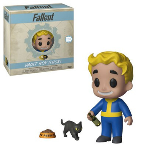 Fallout Funko 5 Star Vault Boy Vinyl Figure [Luck]