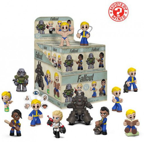 Funko Mystery Minis Series 2 Fallout Series 2 Mystery Box [12 Packs]