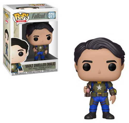 Funko Fallout POP! Games Vault Dweller Male Vinyl Figure #371