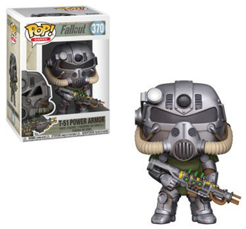 Funko Fallout POP! Games T-51 Power Armor Vinyl Figure #370