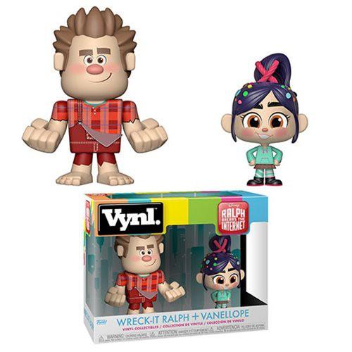 Funko Disney Wreck-It Ralph 2: Ralph Breaks the Internet Vynl. Wreck-It Ralph & Vanellope Vinyl Figure 2-Pack