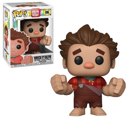 Funko Wreck-It Ralph 2: Ralph Breaks the Internet POP! Disney Wreck-It Ralph Vinyl Figure #06 [Hands Out]