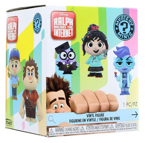 Funko Disney Mystery Minis Wreck-It Ralph 2: Ralph Breaks the Internet Mystery Pack