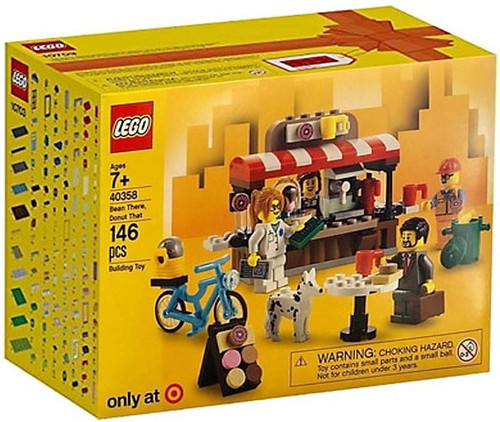 LEGO Bean There, Donut That Exclusive Set #40358