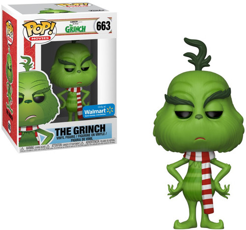 Funko Dr. Seuss POP! Movies The Grinch Exclusive Vinyl Figure #663 [with Scarf]