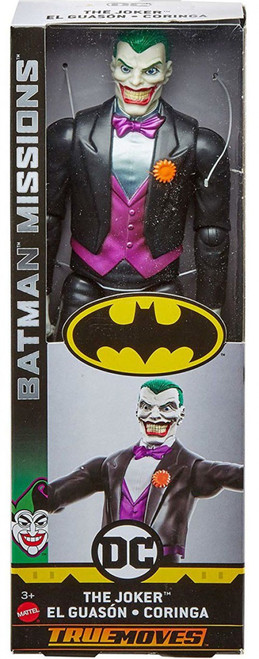 DC Batman Missions The Joker Action Figure [True Moves]
