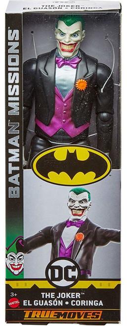 DC Batman Missions The Joker Action Figure [True Moves]