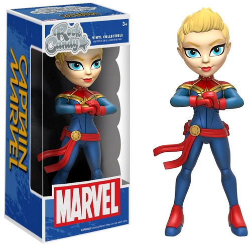 Funko Rock Candy Captain Marvel Vinyl Figure