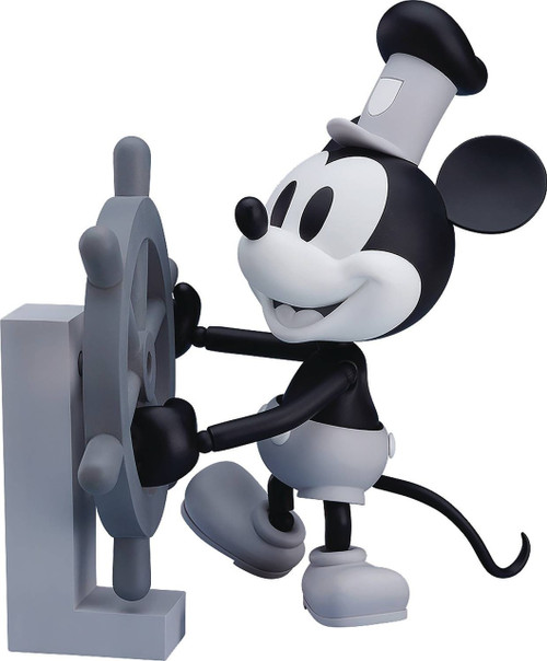 Disney Steamboat Willie Action Figure [Black & White Version]