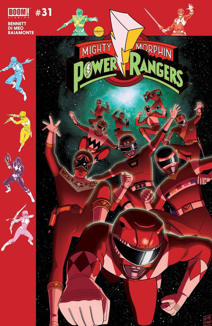 Boom Studios Mighty Morphin Power Rangers #31 Beyond The Grid Comic Book [Gibson Variant Cover]
