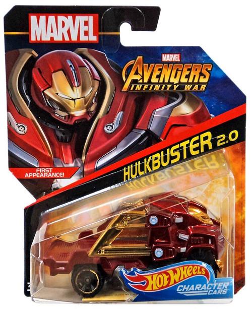 Hot Wheels Avengers Infinity War Character Cars Hulkbuster 2.0 Die-Cast Car