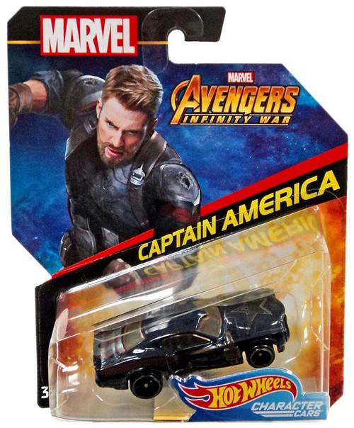 Hot Wheels Avengers Infinity War Character Cars Captain America Diecast Car