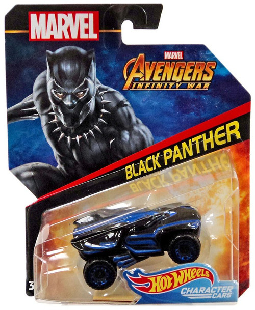 Hot Wheels Avengers Infinity War Character Cars Black Panther Die-Cast Car