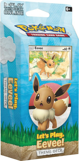 Pokemon Trading Card Game Sun & Moon Let's Play Eevee! Theme Deck