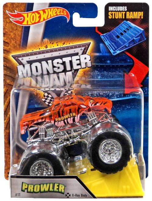Hot Wheels Monster Jam Prowler Die-Cast Car [Stunt Ramp, Crome]