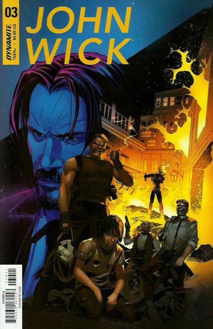 Dynamite Entertainment John Wick #3 Comic Book