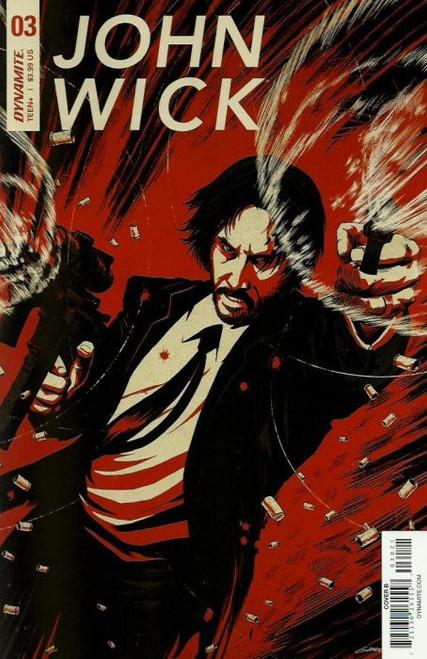 Dynamite Entertainment John Wick #3 Comic Book [Garriga Variant Cover]