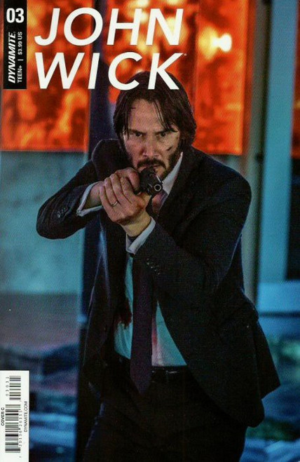 Dynamite Entertainment John Wick #3 Comic Book [Photo Variant Cover]