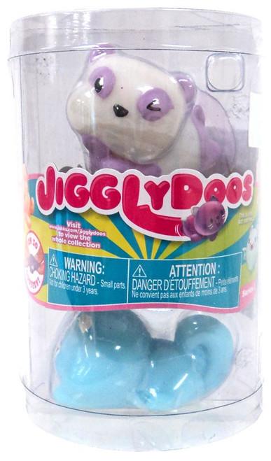 JigglyDoos Series 3 Purple Panda & Blue Beaver Squeeze Toy 2-Pack