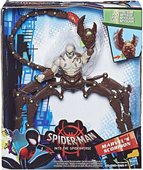 Spider-Man Into the Spider-Verse Marvel's Scorpion Deluxe Figure