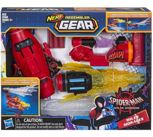 Marvel Spider-Man Into the Spider-Verse Nerf Miles Morales Assembler Gear
