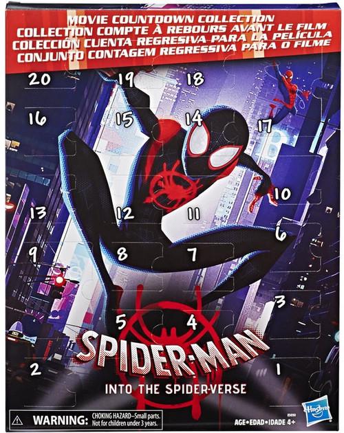 Marvel Spider-Man Into the Spider-Verse Movie Countdown Collection Set