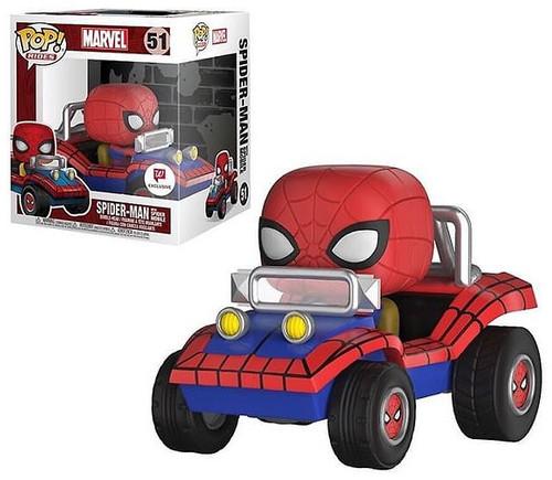 Funko Marvel Spider-Man Into the Spider-Verse POP! Rides Spider-Man Exclusive Vinyl Bobble Head #51 [with Spider-Mobile]