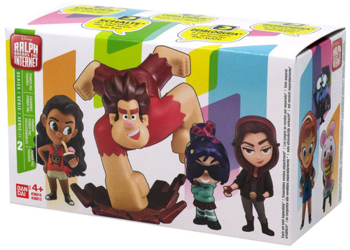 Disney Wreck-It Ralph 2: Ralph Breaks the Internet Power Pac Series 2 Wreck-It Ralph 3-Inch Mystery 2-Pack