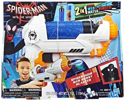 Marvel Spider-Man Spider Noir Web Burst Blaster Water Toy
