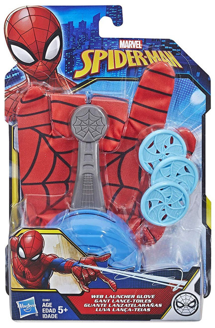 Marvel Spider-Man Into the Spider-Verse Web Launcher Glove Roleplay Toy