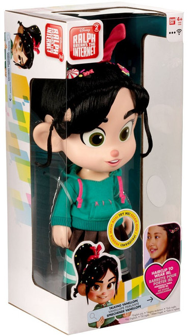 Disney Wreck-It Ralph 2: Ralph Breaks the Internet Vanellope Talking Action Figure