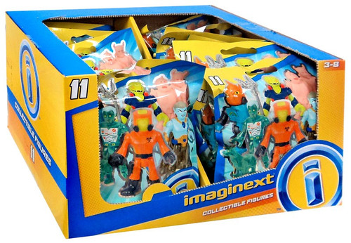 Fisher Price Imaginext Series 11 Collectible Figure Mystery Box [16 Packs]