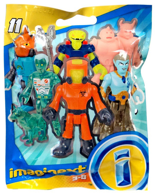 Fisher Price Imaginext Series 11 Collectible Figure Mystery Pack