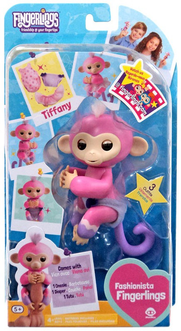 Fingerlings Fashionista Baby Monkey Tiffany Figure