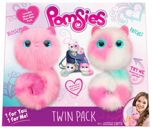 Pomsies Blossom & Patches Exclusive Plush Toy 2-Pack
