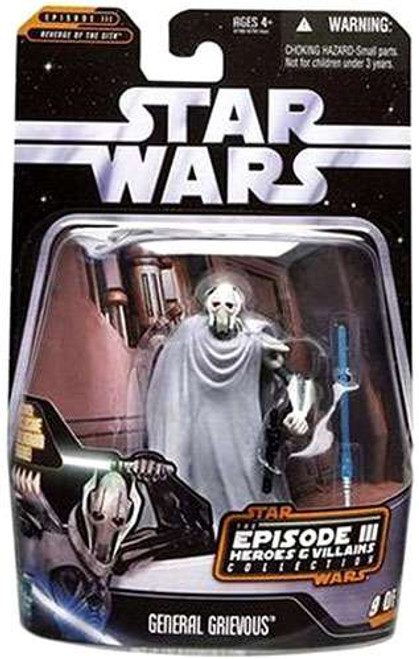 Star Wars Revenge of the Sith General Grievous Action Figure #9 of 12