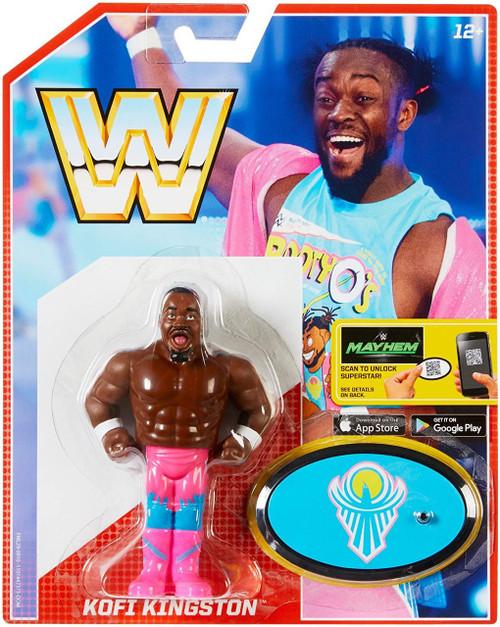 WWE Wrestling Retro Kofi Kingston Action Figure