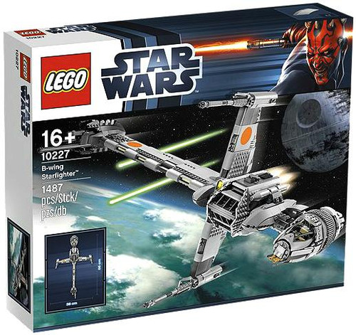 LEGO Star Wars Return of the Jedi B-Wing Fighter Exclusive Set #10227
