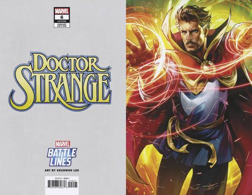 Marvel Comics Doctor Strange #6 Comic Book [Keunwoo Lee Marvel Battle Lines Variant Cover]