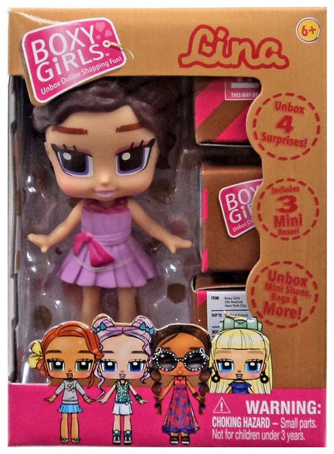 Boxy Girls Lina Mini Doll