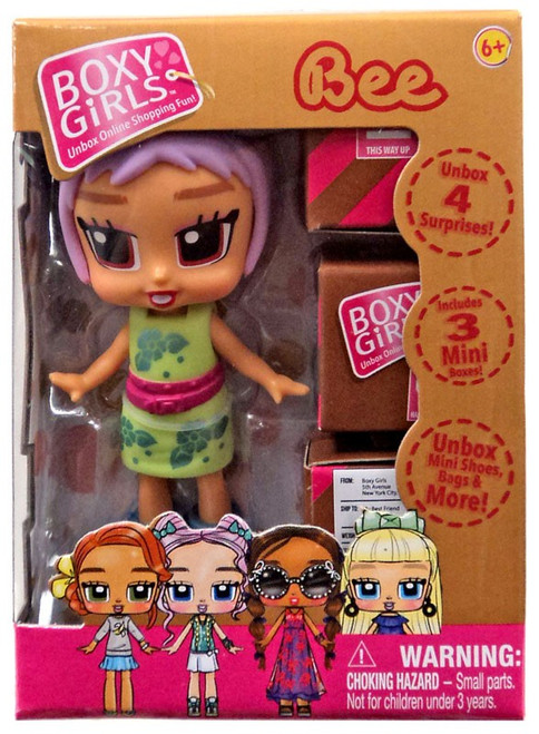 Boxy Girls Bee Mini Doll
